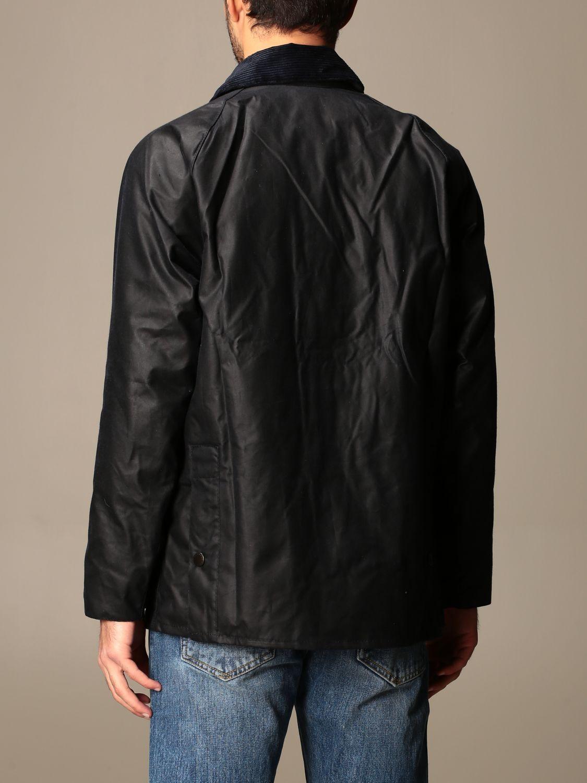 Jacket Barbour: Barbour jacket in coated cotton blue 2