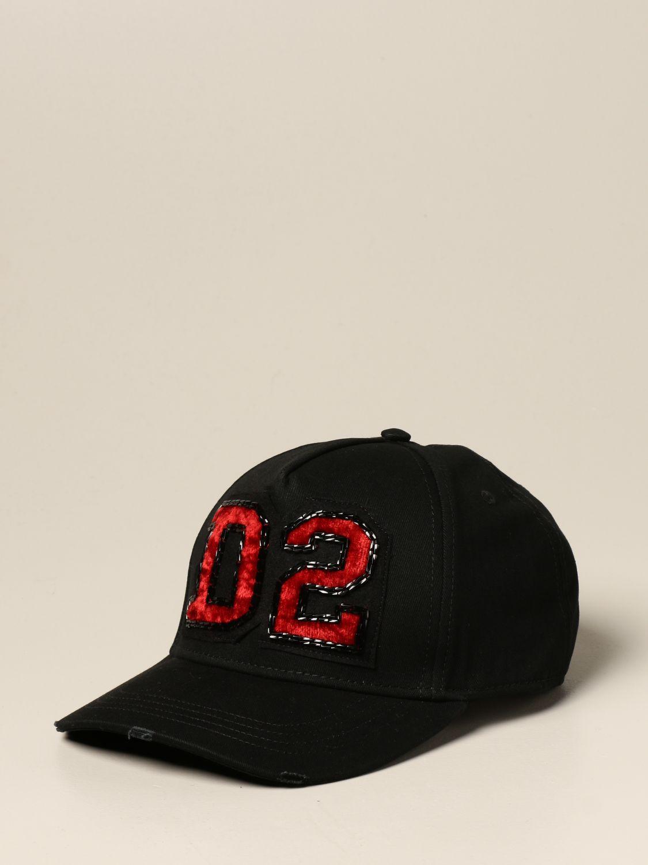Chapeau Dsquared2: Chapeau femme Dsquared2 noir 1