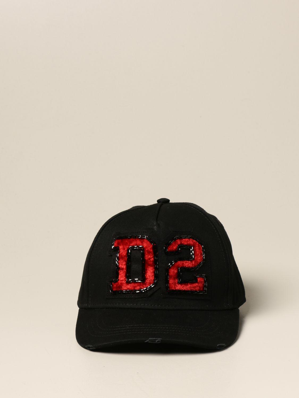 Chapeau Dsquared2: Chapeau femme Dsquared2 noir 2