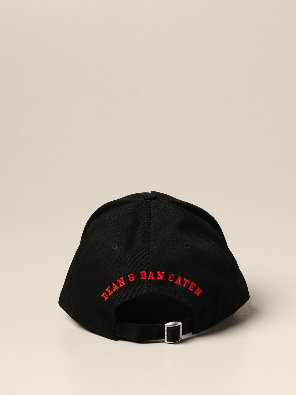 Chapeau Dsquared2: Chapeau femme Dsquared2 noir 3