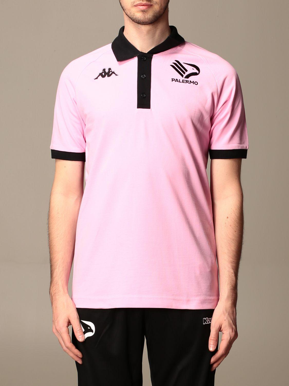 POLO衫 Palermo: Polo衫 男士 Palermo 粉色 1