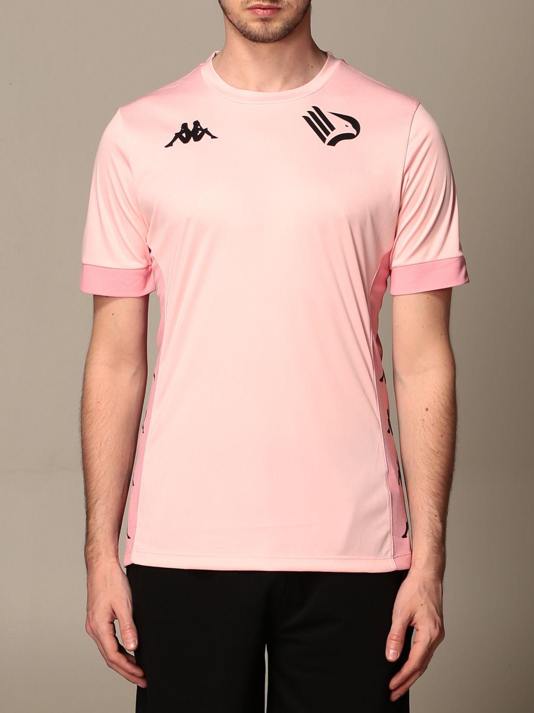 T-shirt Palermo: Maglia dervio allenamento kappa palermo rosa 1