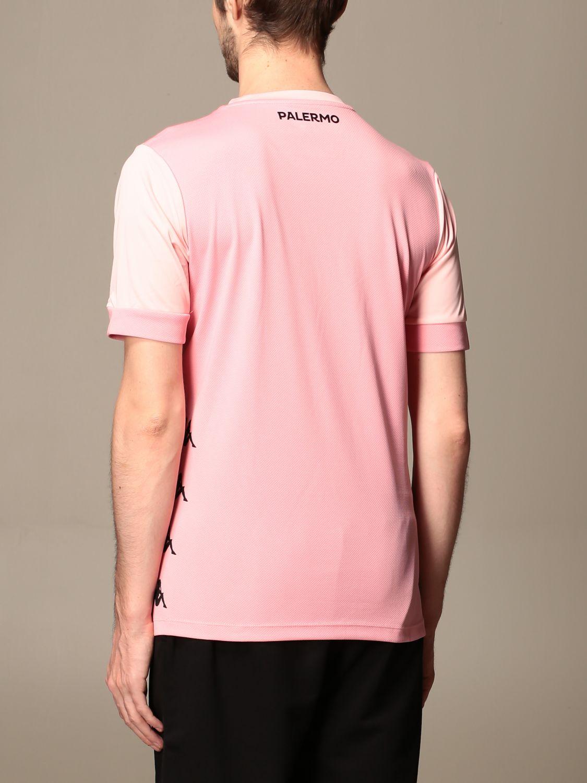 T-shirt Palermo: Maglia dervio allenamento kappa palermo rosa 2