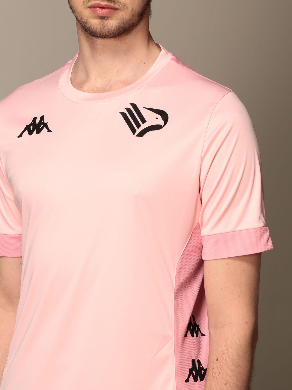 T-shirt Palermo: Maglia dervio allenamento kappa palermo rosa 3