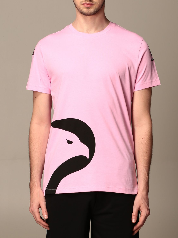T-shirt Palermo: T-shirt amepos kappa palermo con stemma rosa 1