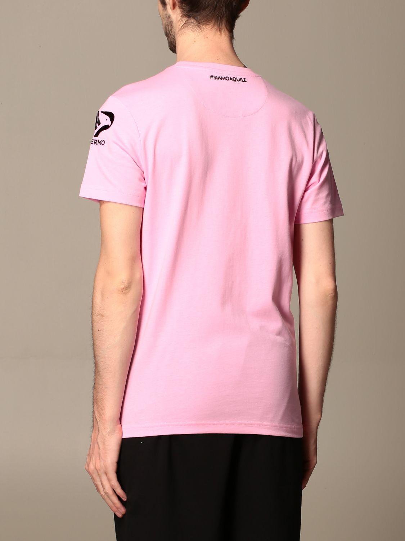 T-shirt Palermo: T-shirt amepos kappa palermo con stemma rosa 2