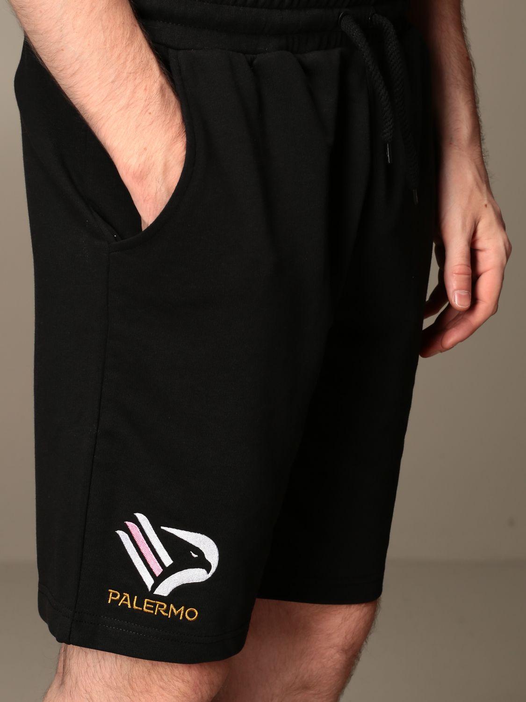 Pantaloncino Palermo: Bermuda allouts da gara jogging kappa palermo nero 3