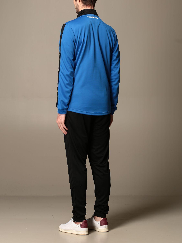 Tuta Palermo: Tuta salcito da gara kappa palermo in tessuto tricot royal 3