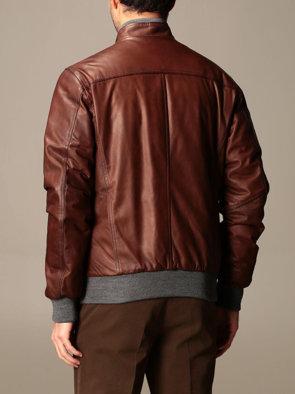 Jacket Barba Napoli: Barba Napoli reversible jacket with zip dark 2