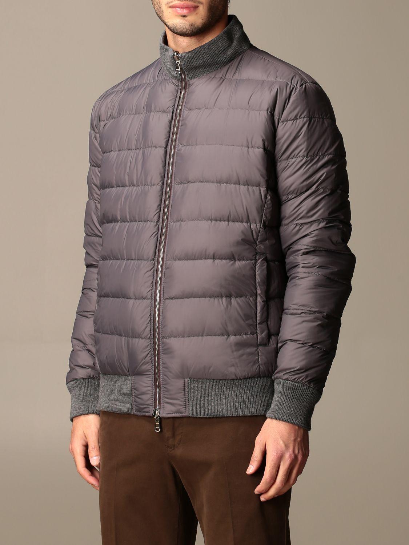 Jacket Barba Napoli: Barba Napoli reversible jacket with zip dark 3
