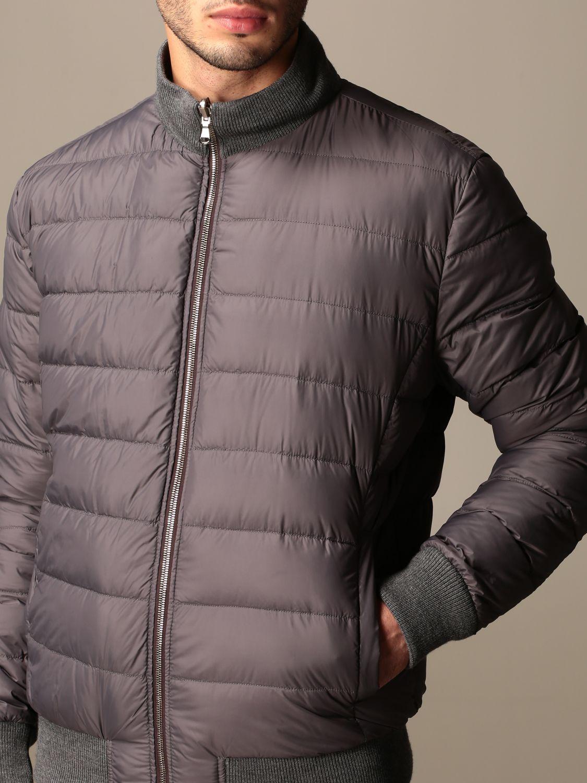 Jacket Barba Napoli: Barba Napoli reversible jacket with zip dark 4