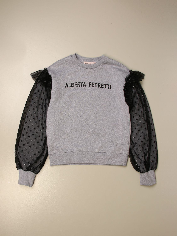 Jersey Alberta Ferretti Junior: Jersey niños Alberta Ferretti Junior gris 1