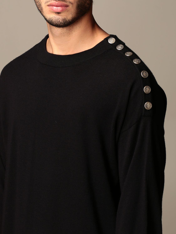 Sweatshirt Balmain: Sweatshirt men Balmain black 3