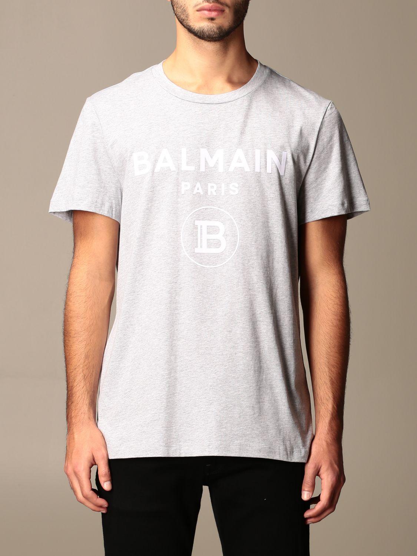 T-shirt Balmain: T-shirt men Balmain grey 1