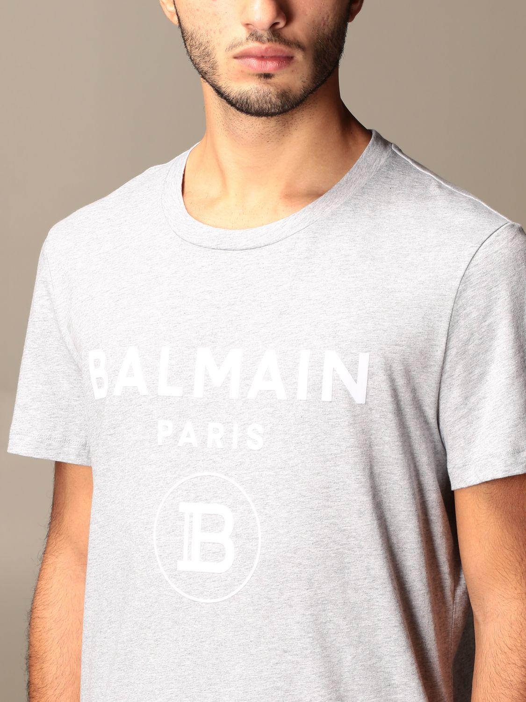 T-shirt Balmain: T-shirt men Balmain grey 3