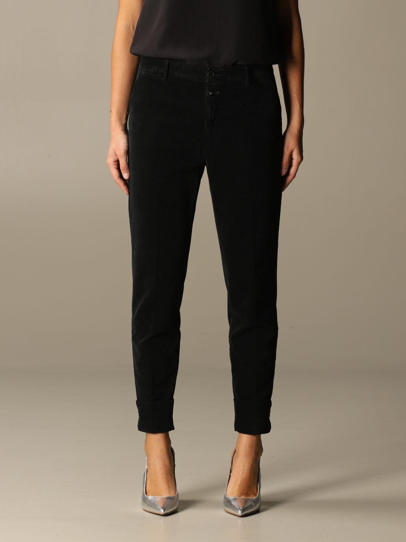 Pants Closed: Pants women Closed black 1