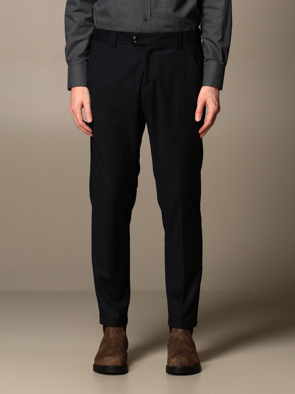 Trousers Alessandro Dell'acqua: Trousers men Alessandro Dell'acqua blue 1