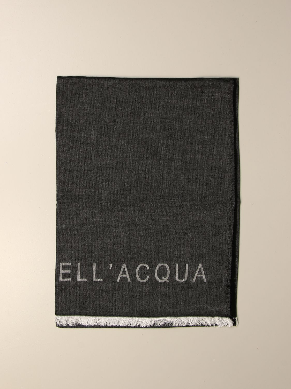 Scarf Alessandro Dell'acqua: Alessandro Dell'acqua double scarf grey 1