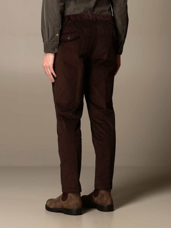 Pantalon Alessandro Dell'acqua: Pantalon homme Alessandro Dell'acqua marron 2