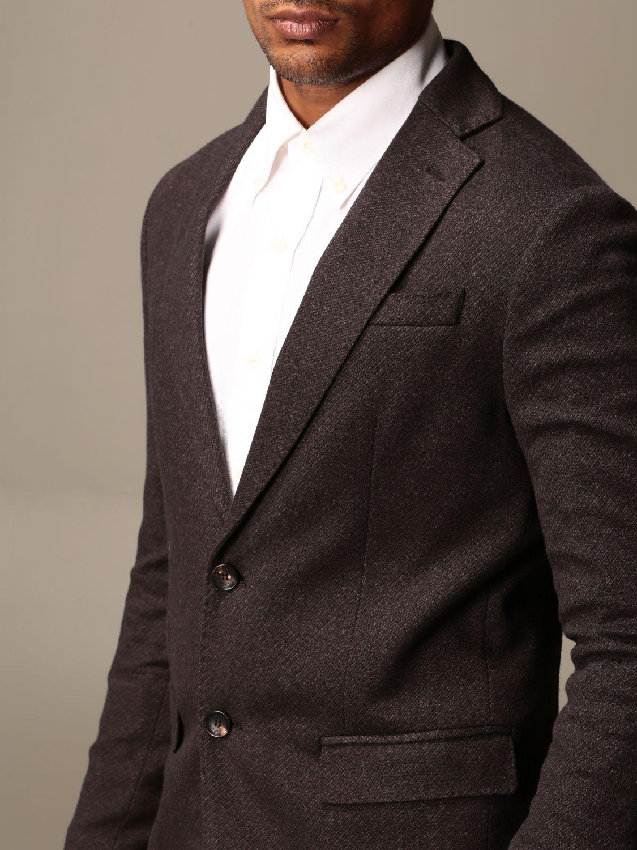 Jacket Alessandro Dell'acqua: Jacket men Alessandro Dell'acqua brown 4