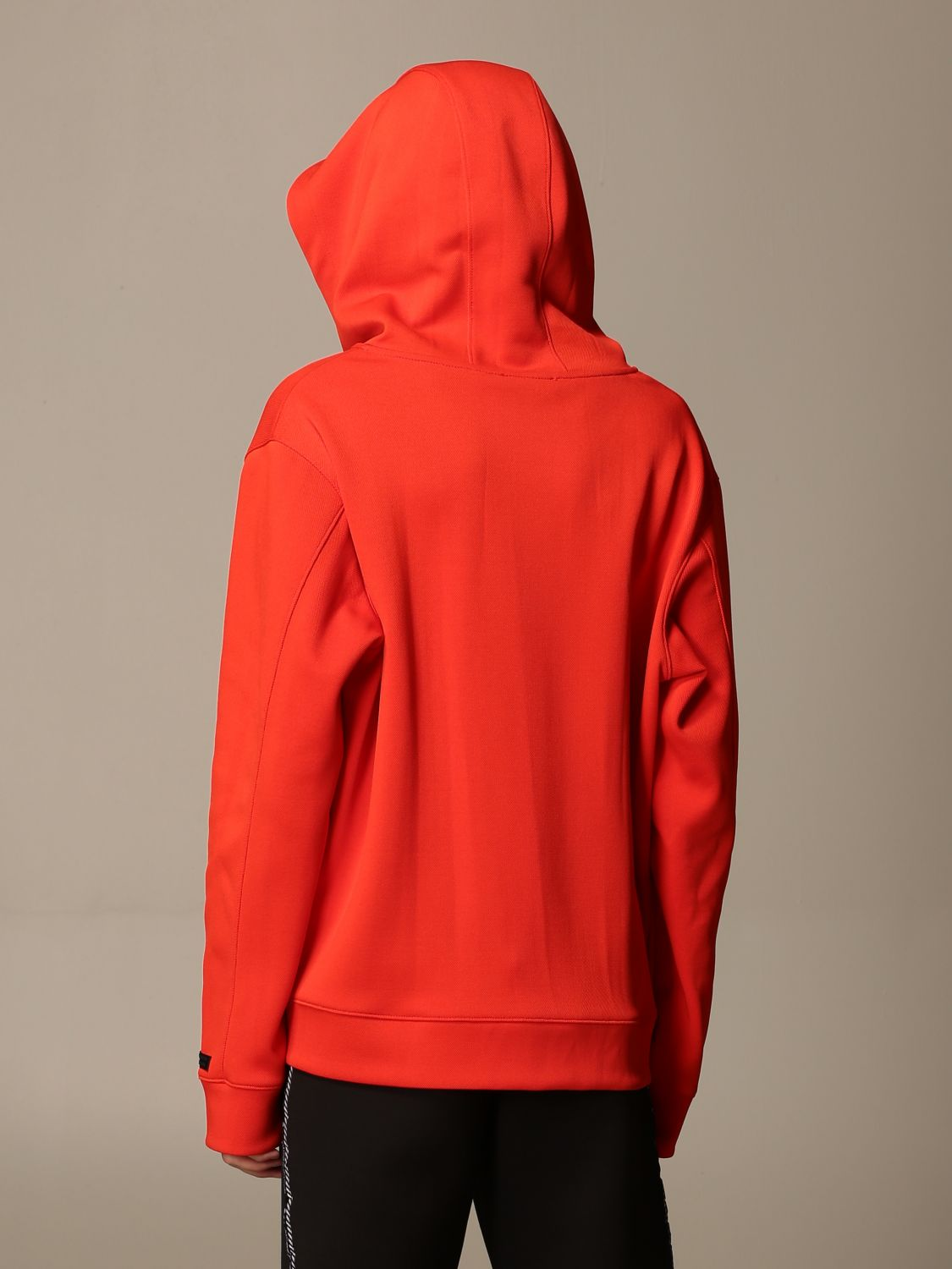 Sweatshirt Alessandro Dell'acqua: Jumper men Alessandro Dell'acqua orange 2