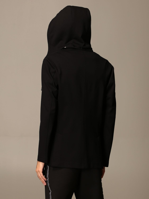 Jacket Alessandro Dell'acqua: Jacket men Alessandro Dell'acqua black 2