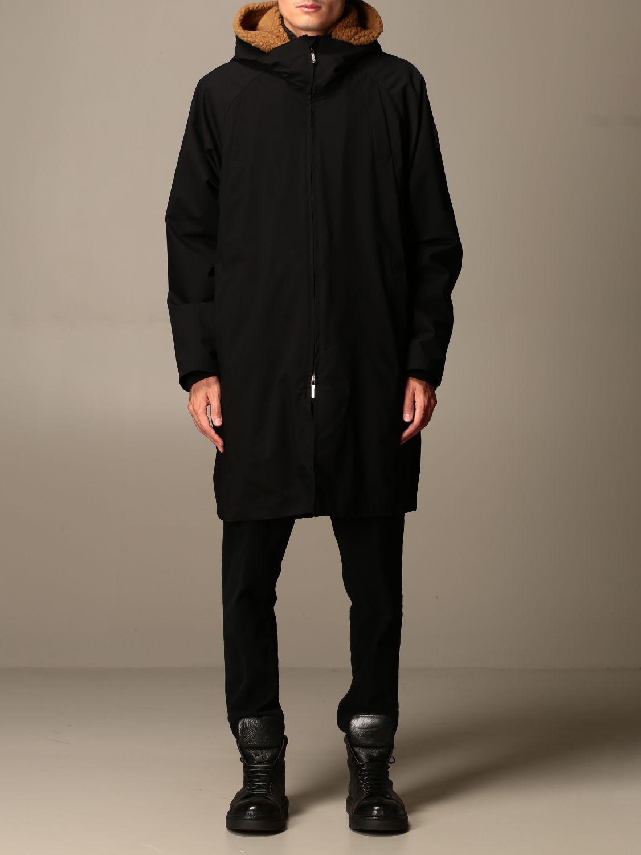 Jacket Alessandro Dell'acqua: Jacket men Alessandro Dell'acqua black 1