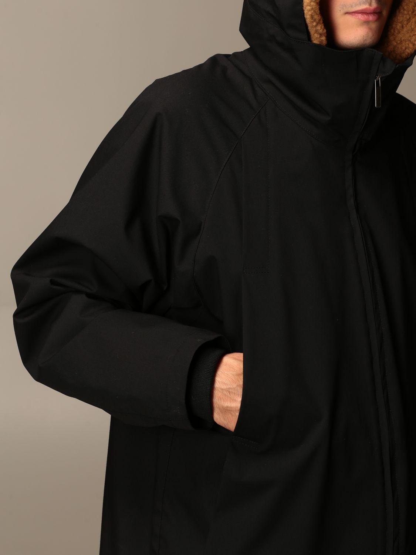 Jacket Alessandro Dell'acqua: Jacket men Alessandro Dell'acqua black 3