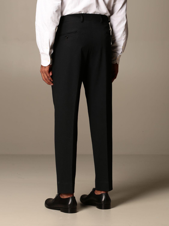 Trousers Alessandro Dell'acqua: Trousers men Alessandro Dell'acqua black 2
