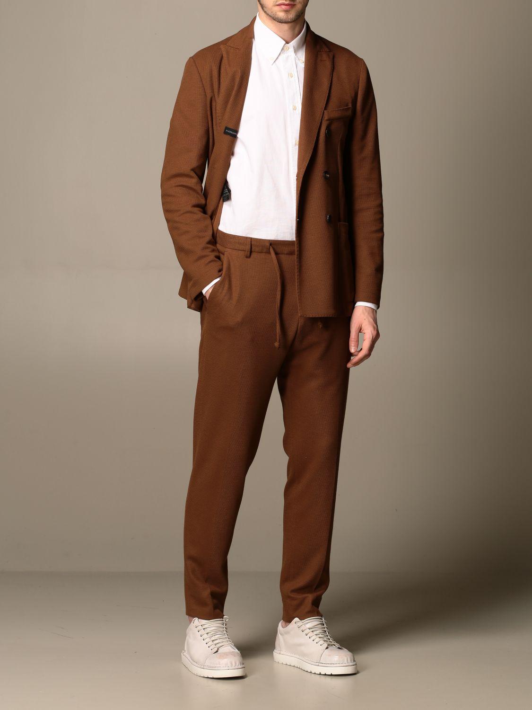 Trousers Alessandro Dell'acqua: Trousers men Alessandro Dell'acqua dove grey 2