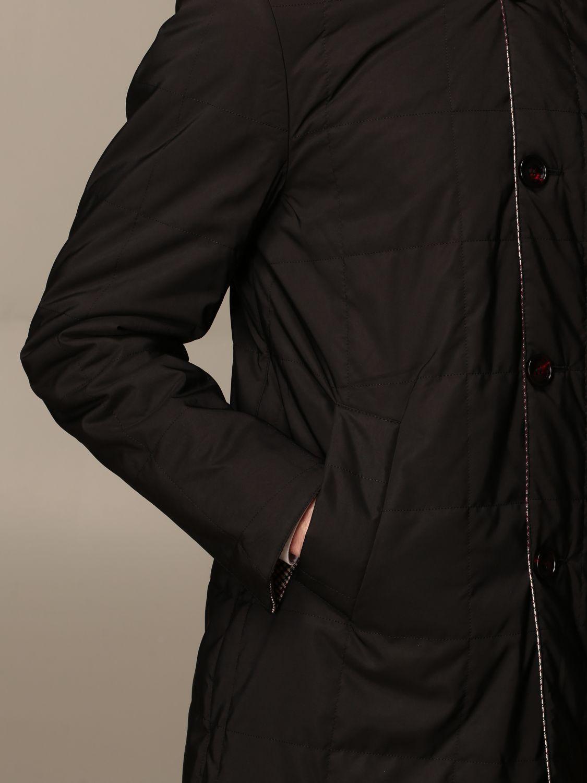Jacket Alessandro Dell'acqua: Trench coat men Alessandro Dell'acqua burgundy 5