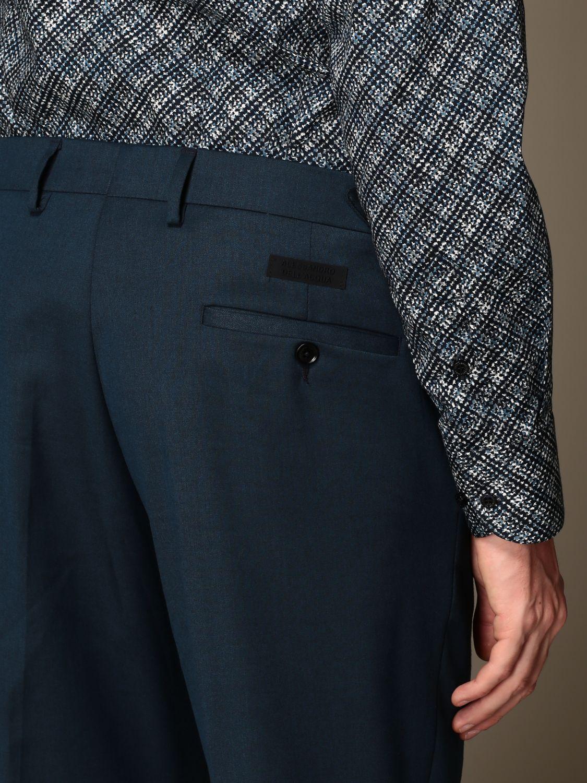 Trousers Alessandro Dell'acqua: Trousers men Alessandro Dell'acqua teal 3
