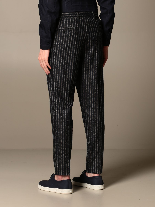 Trousers Alessandro Dell'acqua: Trousers men Alessandro Dell'acqua blue 3