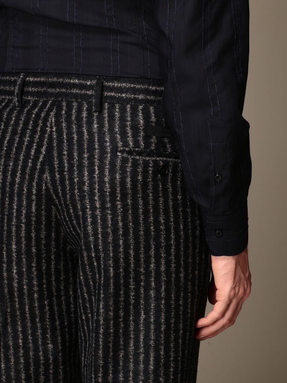 Trousers Alessandro Dell'acqua: Trousers men Alessandro Dell'acqua blue 4