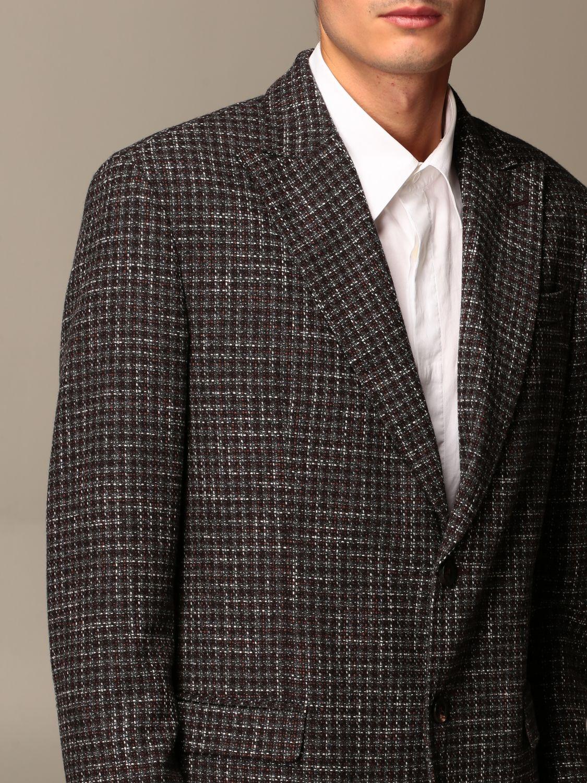 Jacket Alessandro Dell'acqua: Jacket men Alessandro Dell'acqua brown 3