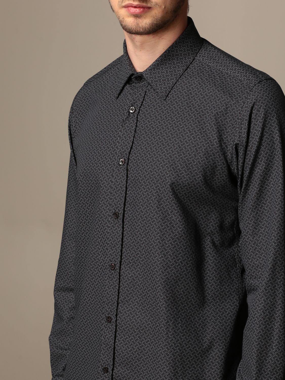 Shirt Alessandro Dell'acqua: Shirt men Alessandro Dell'acqua black 3