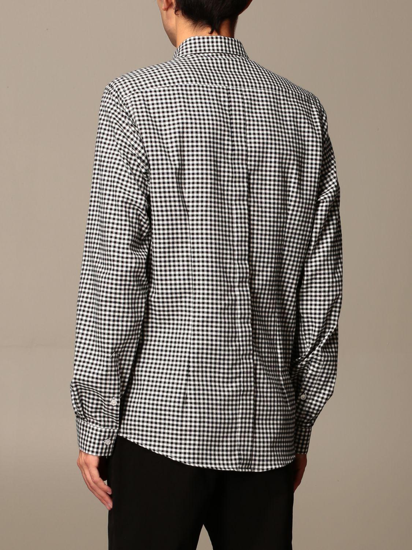 Shirt Alessandro Dell'acqua: Shirt men Alessandro Dell'acqua white 2