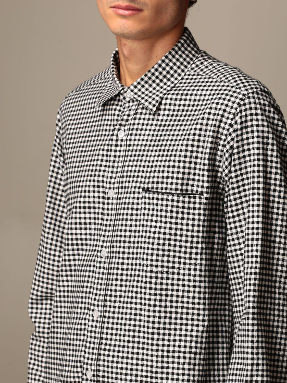 Shirt Alessandro Dell'acqua: Shirt men Alessandro Dell'acqua white 3
