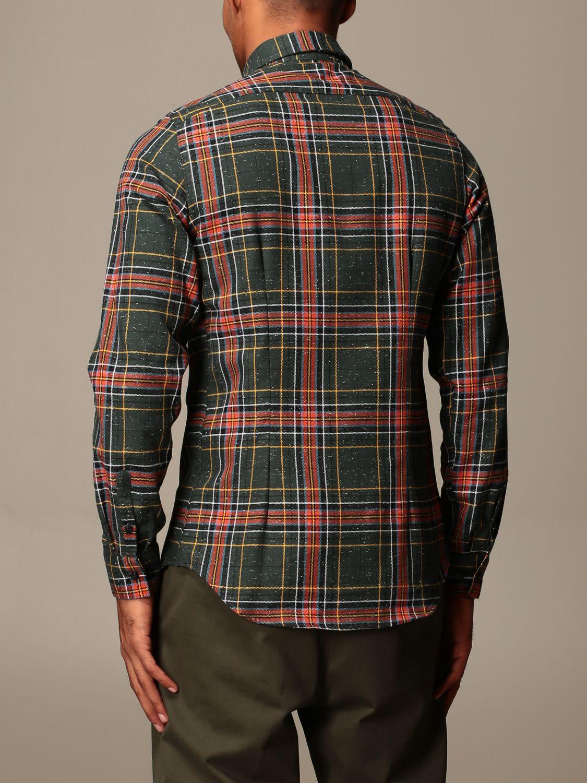 Shirt Alessandro Dell'acqua: Shirt men Alessandro Dell'acqua green 2