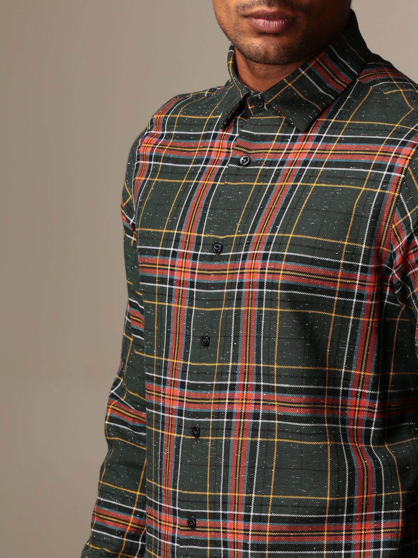 Shirt Alessandro Dell'acqua: Shirt men Alessandro Dell'acqua green 3
