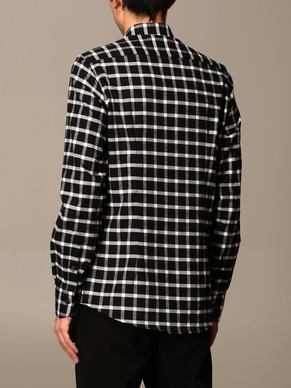 Shirt Alessandro Dell'acqua: Shirt men Alessandro Dell'acqua black 2