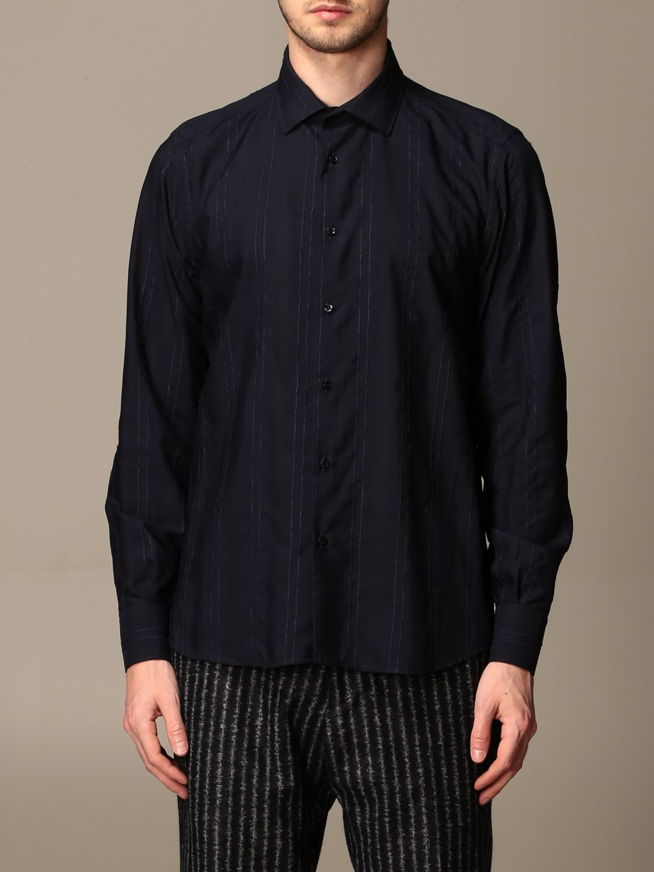 Shirt Alessandro Dell'acqua: Shirt men Alessandro Dell'acqua blue 1