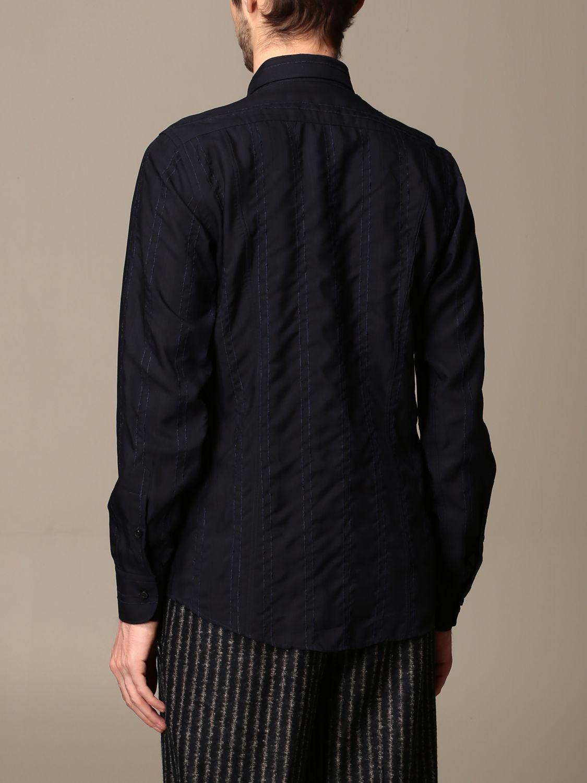 Shirt Alessandro Dell'acqua: Shirt men Alessandro Dell'acqua blue 2