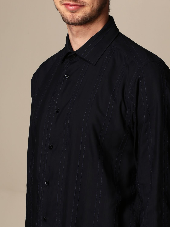 Shirt Alessandro Dell'acqua: Shirt men Alessandro Dell'acqua blue 3