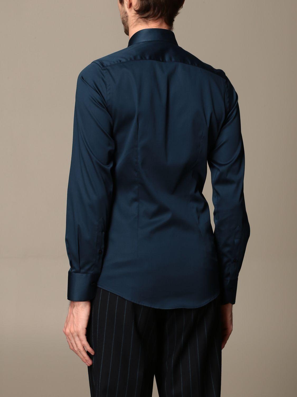 Shirt Alessandro Dell'acqua: Alessandro Dell'acqua cotton shirt blue 2