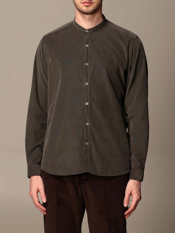 Shirt Alessandro Dell'acqua: Alessandro Dell'acqua cotton shirt green 1