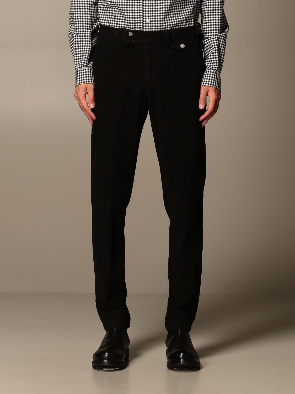 Trousers Alessandro Dell'acqua: Trousers men Alessandro Dell'acqua burnt 1