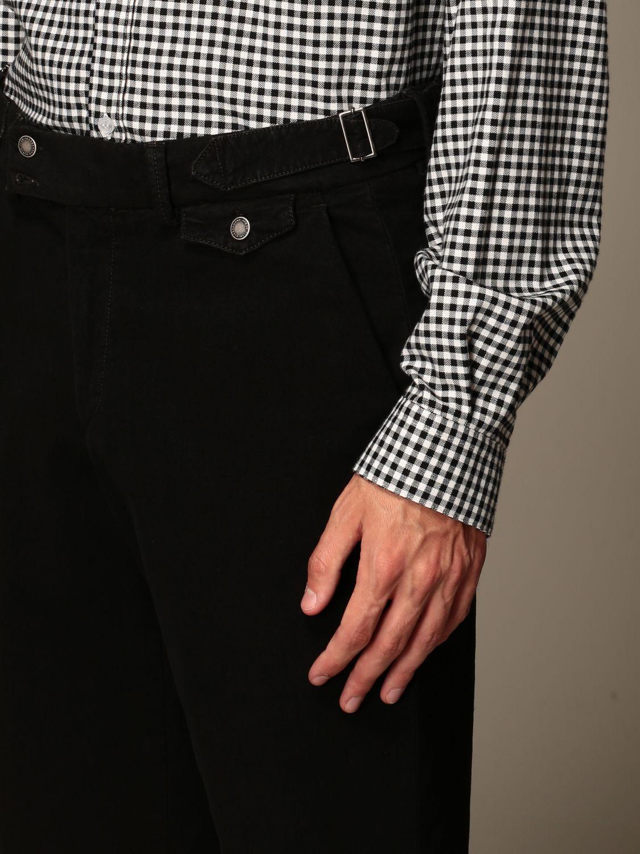 Trousers Alessandro Dell'acqua: Trousers men Alessandro Dell'acqua burnt 3