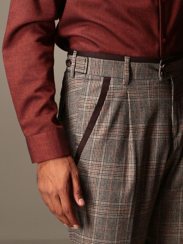 Trousers Alessandro Dell'acqua: Trousers men Alessandro Dell'acqua dove grey 3