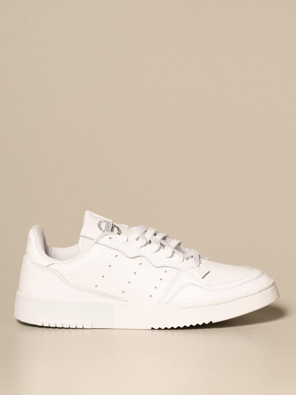 Sneakers Adidas Originals: Sneakers supercourt adidas originals in pelle bianco 1